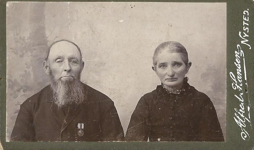Erindringsmedalje for deltagelse i krigen i 1864