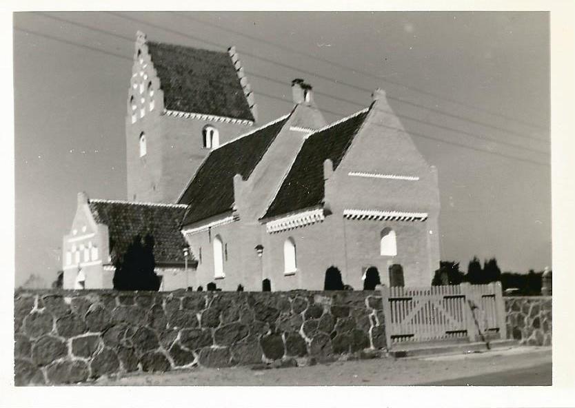 Fjelde kirke 1965