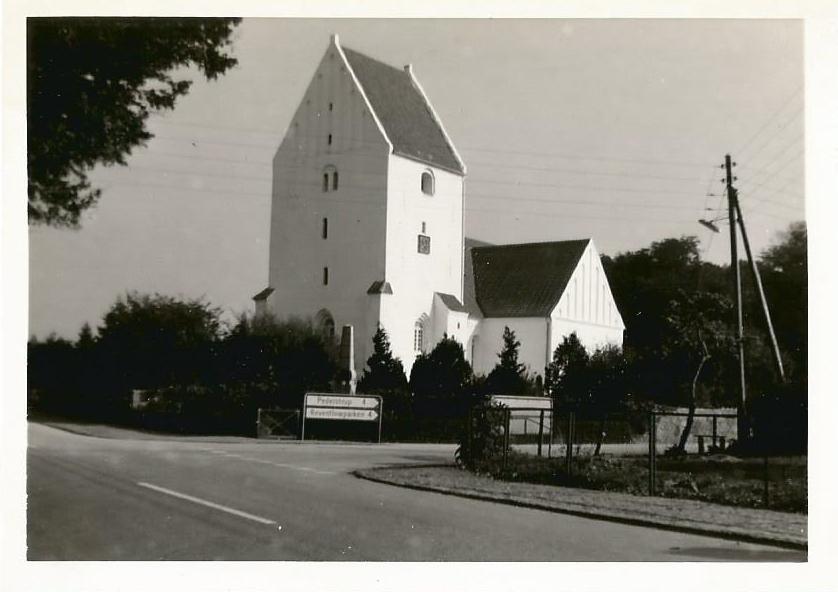 Horslunde kirke 1966