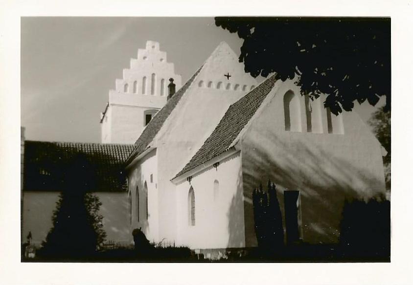 Hunseby kirke 1964