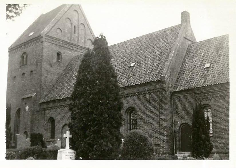 Købelev kirke 1964