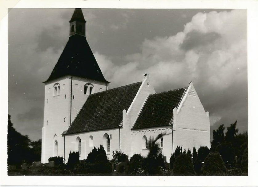 Slemminge kirke 1965