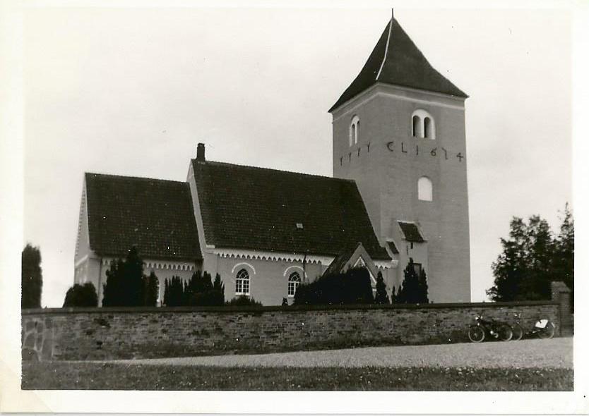 Vaabensted kirke 1965