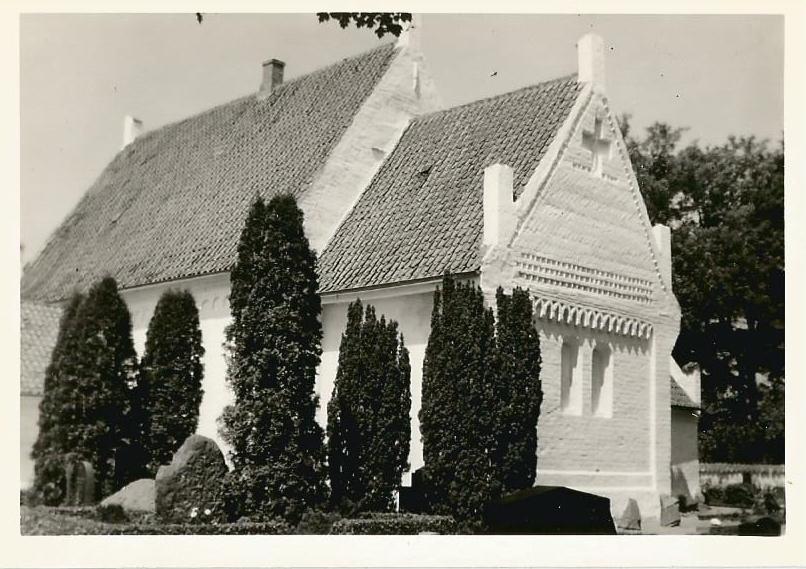 Gloslunde kirke 1963