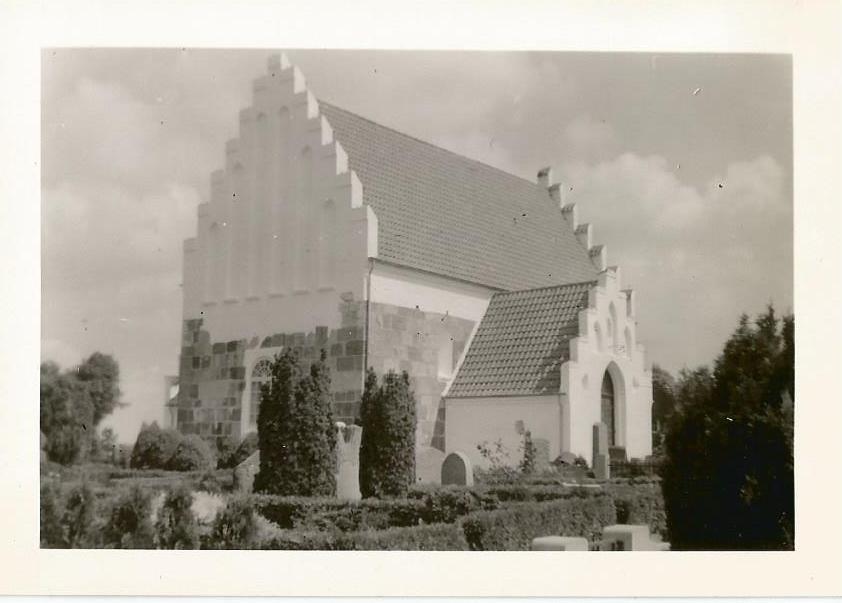Søllested kirke 1963