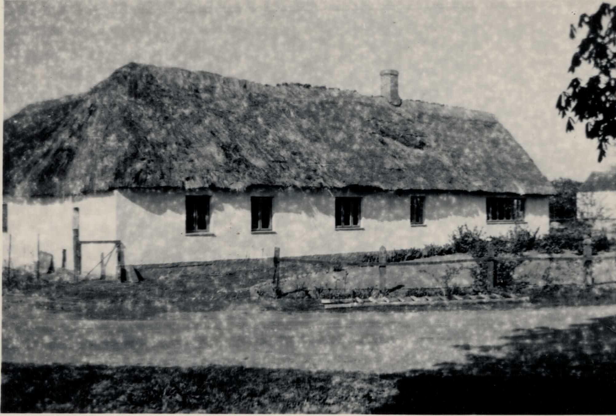 Stengården, Kirke Værløse, i starten af 1940`erne