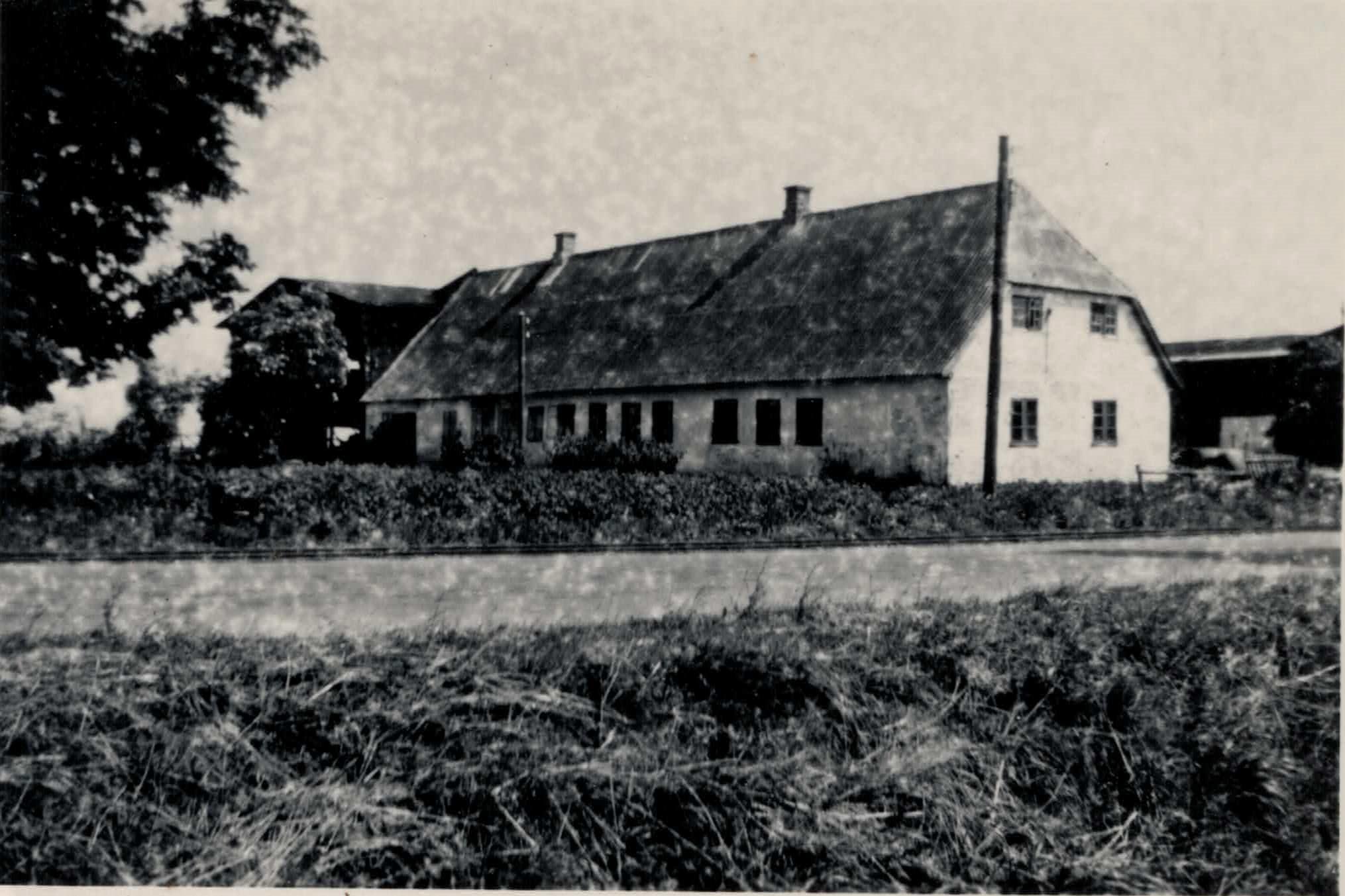 Truegård, Skodsebølle, i 1950`erne