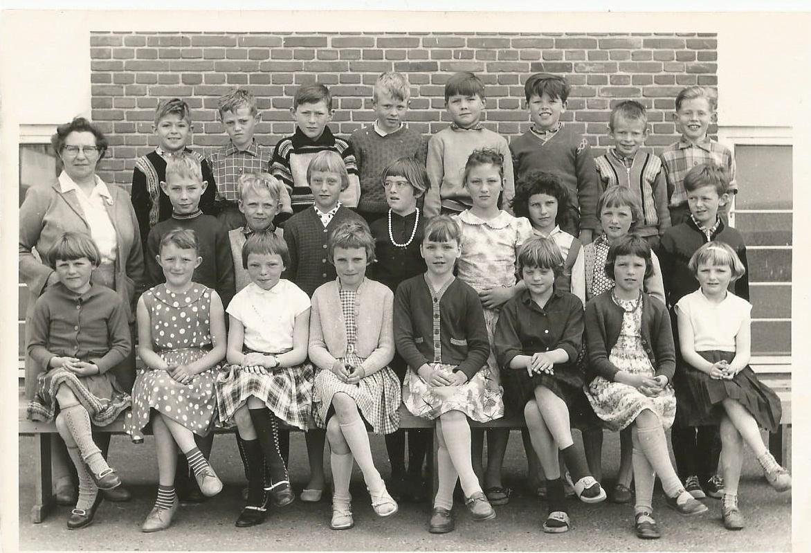 Lillie Anna Andersen, Dannelunde skole 1960?