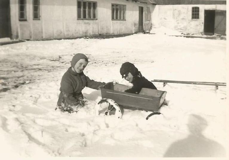 I 50`erne kom der sne, Truegaard